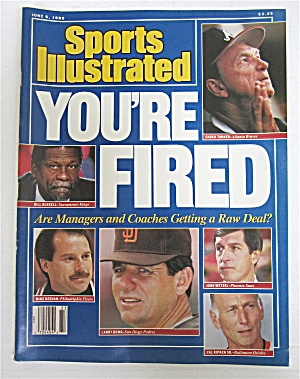 Sports Illustrated June 6, 1988 You're Fired