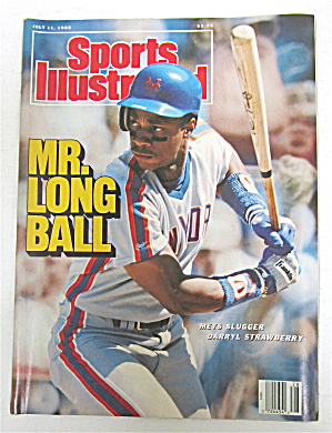 Sports Illustrated-july 11, 1988-darryl Strawberry