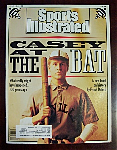 Sports Illustrated-july 18, 1988-casey At The Bat