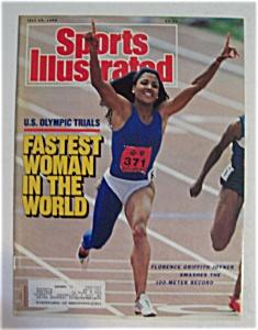 Sports Illustrated Magazine - July 25, 1988 - Flo Jo (Image1)