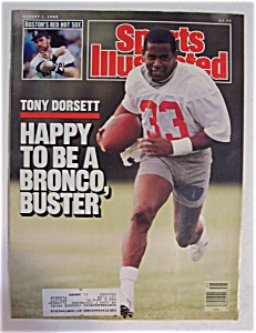 Sports Illustrated Magazine-August 1, 1988-Tony Dorsett (Image1)