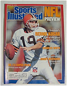 Sports Illustrated Magazine - August 29, 1988