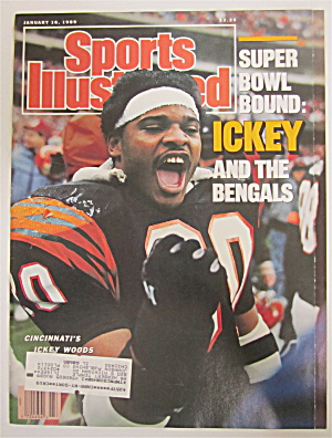 Sports Illustrated January 16, 1989 Ickey Woods