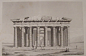 Le Parthenon Ou Temple De Minerve A Athenes (Image1)