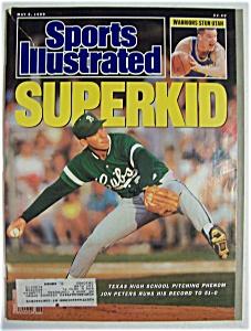 Sports Illustrated Magazine-May 8, 1989-Jon Peters (Image1)