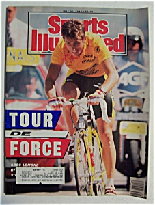 Sports Illustrated Magazine-july 31, 1989-tour De Force