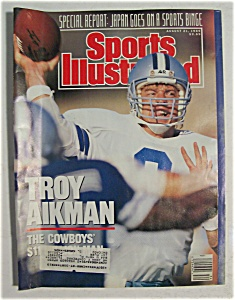 Sports Illustrated Magazine-august 21, 1989-troy Aikman