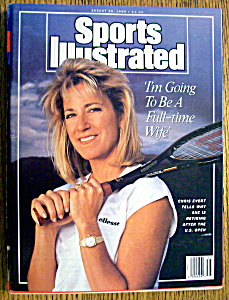 Sports Illustrated Magazine-august 28, 1989-chris Evert