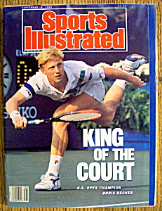 Sports Illustrated Magazine-Sept 18, 1989-Boris Becker (Image1)