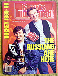 Sports Illustrated Magazine-october 9, 1989-russians