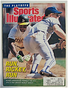 Sports Illustrated-October 16, 1989-Rickey Henderson (Image1)