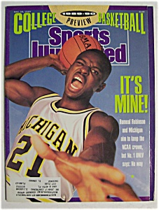 Sports Illustrated-november 20, 1989- Rumeal Robinson