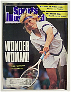 Sports Illustrated Magazine-July 16, 1990-Navratilova (Image1)