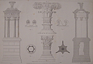 Monument Choragique De Lysicrates, A Athenes (Image1)