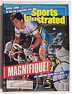 Sports Illustrated Magazine-July 30, 1990-Greg Lemond (Image1)