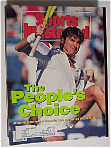Sport Illustrated Magazine-September 16, 1991-J Connors (Image1)