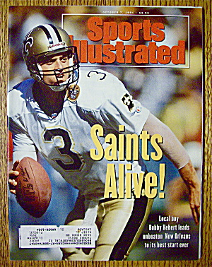 Sports Illustrated Magazine-october 7, 1991-bob Hebert