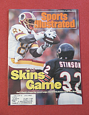 Sports Illustrated Magazine -oct 14, 1991- Gary Clark