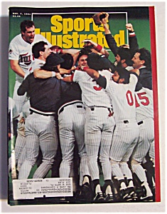 Sports Illustrated Magazine-November 4, 1991-Twins (Image1)