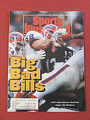 Sports Illustrated Magazine-December 16, 1991-Bills (Image1)