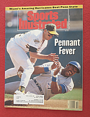 Sports Illustrated Magazine-October 19, 1992-Pennant (Image1)