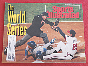 Sports Illustrated October 26, 1992 The World Series