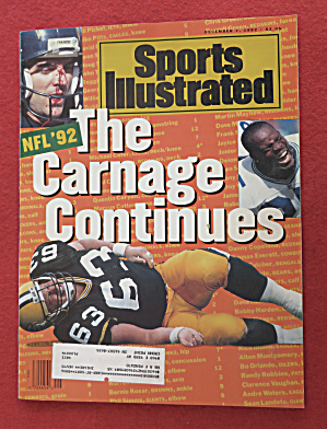 Sports Illustrated Magazine-December 7, 1992-NFL 92 (Image1)