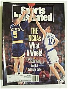Sports Illustrated Magazine -March 29, 1993- Jason Kidd (Image1)