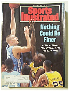 Sports Illustrated Magazine - April 12, 1993