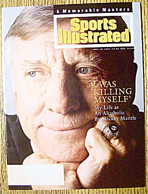 Sports Illustrated Magazine-april 18, 1994-m. Mantle
