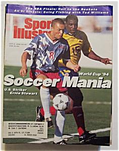 Sports Illustrated Magazine-July 4, 1994-Ernie Stewart (Image1)