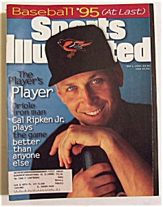 Sports Illustrated Magazine-May 1, 1995-Cal Ripken Jr (Image1)