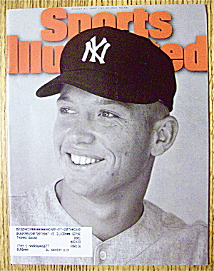 Sports Illustrated-august 21, 1995-mickey Mantle