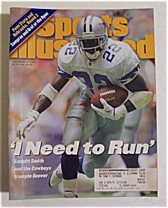 Sports Illustrated-September 18, 1995-Emmitt Smith (Image1)
