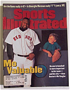 Sports Illustrated-October 2, 1995-Mo Vaughn (Image1)