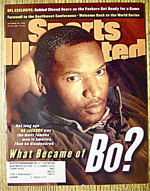 Sports Illustrated Magazine-October 30, 1995-Bo Jackson (Image1)