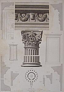 Temple De Vesta, A Tivoli  (1852 Lithograph) (Image1)