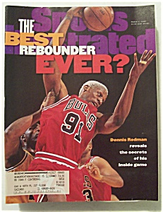 Sports Illustrated Magazine-March 4, 1996-Dennis Rodman (Image1)