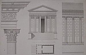 Temple Dit La Maison Carree, A Nismes (Image1)