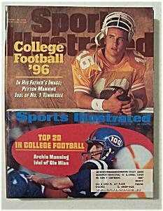Sports Illustrated Magazine-Aug 26, 1996-Peyton Manning (Image1)