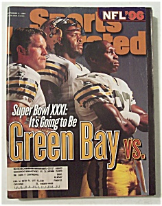 Sports Illustrated Magazine-Sep 2, 1996-Super Bowl XXXI (Image1)