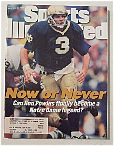 Sports Illustrated-September 23, 1996-Ron Powlus (Image1)