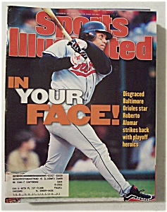 Sports Illustrated Magazine-October 14, 1996-R. Alomar (Image1)