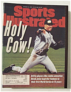 Sports Illustrated-october 21, 1996-derek Jeter