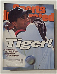 Sports Illustrated-October 28, 1996-Tiger Woods (Image1)