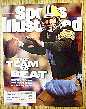 Sports Illustrated Magazine-December 16, 1996-B. Favre (Image1)