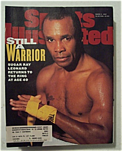Sports Illustrated Magazine-March 3, 1997-Sugar Ray (Image1)