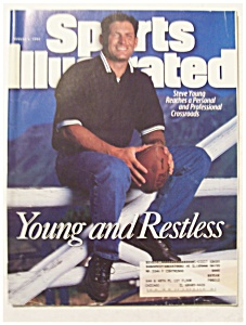 Sports Illustrated Magazine-August 4, 1997-Steve Young (Image1)