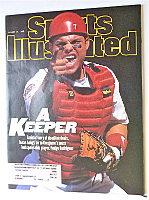 Sports Illustrated Magazine-Aug 11, 1997-P. Rodriguez (Image1)