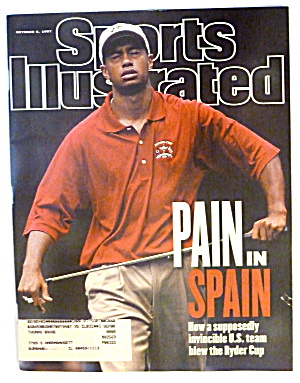 Sports Illustrated Magazine-October 6, 1997-Tiger Woods (Image1)